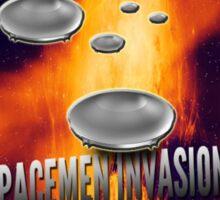 Spacemen Invasion Sticker