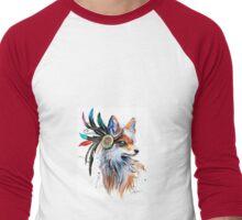 Fox1 Men's Baseball ¾ T-Shirt