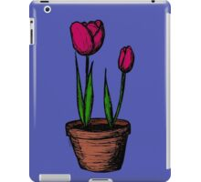 Potted Tulips iPad Case/Skin