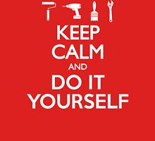 Keep Calm And Do It Yourself DIY T Shirt Womens Fitted T-Shirt