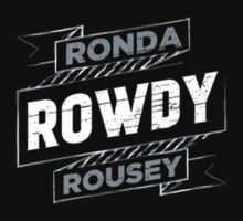 Ronda Rowdy Rousey One Piece - Short Sleeve