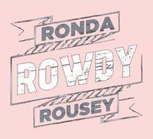 Ronda Rowdy Rousey Kids Tee