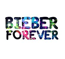 Justin Bieber Forever Photographic Print