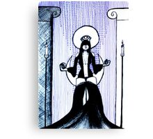 The High Priestess - tarot series by Minxi Canvas Print