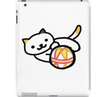 Neko atsume - Playful Cat iPad Case/Skin