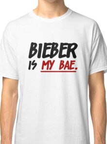 Bieber Is My Bae Classic T-Shirt