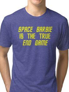Space Barbie v2 Tri-blend T-Shirt