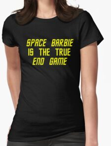 Space Barbie v2 Womens Fitted T-Shirt