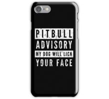Pit Bull Advisory iPhone Case/Skin
