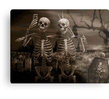 mortal selfie Metal Print
