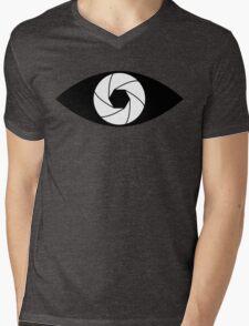 Photographer Photography Lens Mens V-Neck T-Shirt