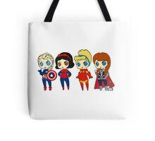 SUPERHERO PRINCESSES Tote Bag