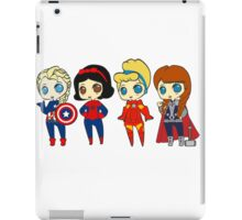 SUPERHERO PRINCESSES iPad Case/Skin