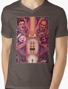Shut Down Mens V-Neck T-Shirt