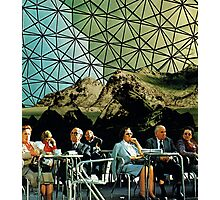 When we are older, Vintage Collage Photographic Print