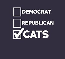 VOTE for cats Unisex T-Shirt