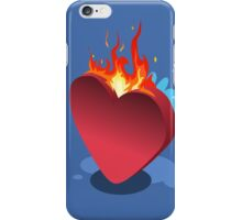 Sick Heart and Fireman iPhone Case/Skin