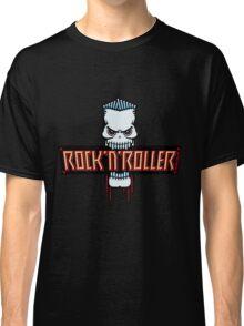 Rock 'N' Roller Skull Classic T-Shirt