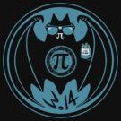 Math Loving Vampire Pi Day Bat by MudgeStudios