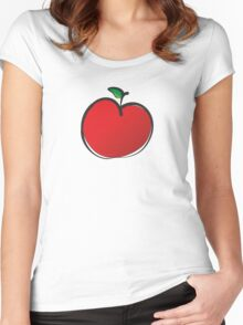 Apple Women's Fitted Scoop T-Shirt
