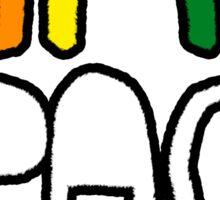 Gay Space Antichrist Sticker