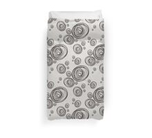 The pattern of dashed circles Duvet Cover