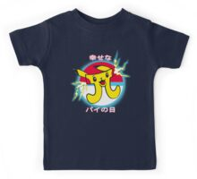 Pi-kachu Happy Pi Day Japanese Style Kids Tee