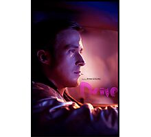 Drive Movie Poster Photographic Print
