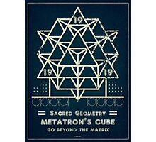 SACRED GEOMETRY METATRON MATRIX Photographic Print