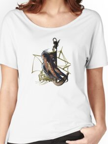 Captain Squid At Sea Women's Relaxed Fit T-Shirt