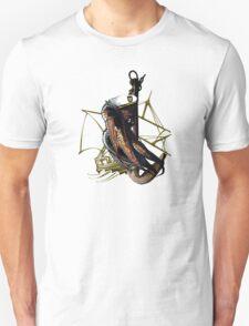 Captain Squid At Sea T-Shirt