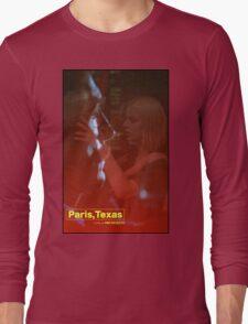 Paris, Texas Movie Poster Long Sleeve T-Shirt