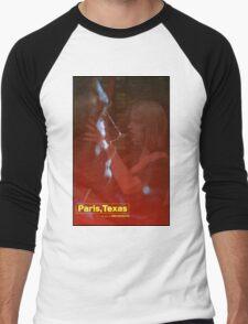 Paris, Texas Movie Poster Men's Baseball ¾ T-Shirt