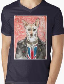 Punk Athenry Mens V-Neck T-Shirt