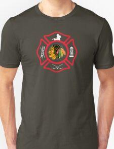 Chicago Fire - Blackhawks style T-Shirt