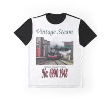 Vintage Steam Railway Train number 6990  Graphic T-Shirt