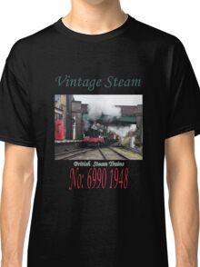 Vintage Steam Railway Train number 6990  Classic T-Shirt