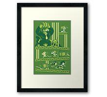 Dragon Kong Ball Framed Print