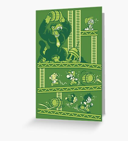 Dragon Kong Ball Greeting Card