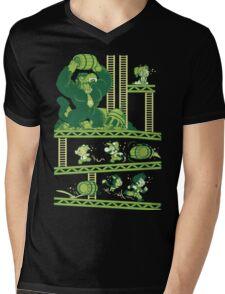 Dragon Kong Ball Mens V-Neck T-Shirt