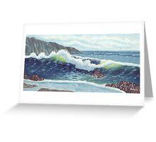 North Oregon Seacape USA Greeting Card