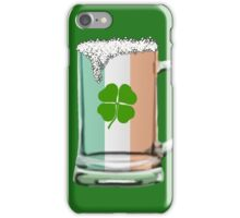 Irish beer mug iPhone Case/Skin