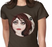 Dear little doll series... POLLY Womens Fitted T-Shirt