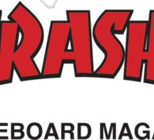 Thrasher Magazine Red Logo Design Sticker