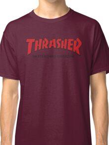 Thrasher Magazine Red Logo Design Classic T-Shirt