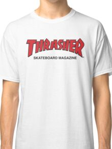 Thrasher Magazine Red Logo Design Classic T-Shirt