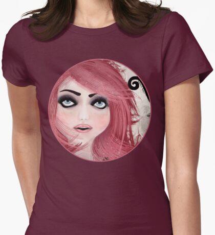 Dear little doll series... MUFFIE Womens Fitted T-Shirt