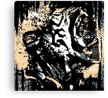 Caged Anguish Canvas Print
