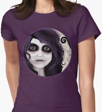 Dear little doll series... VALERIE Womens Fitted T-Shirt