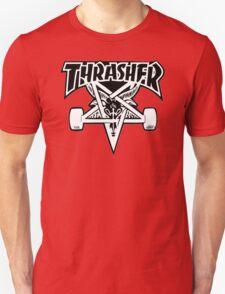 "Thrasher ""666"" Satanic Logo Design Unisex T-Shirt"